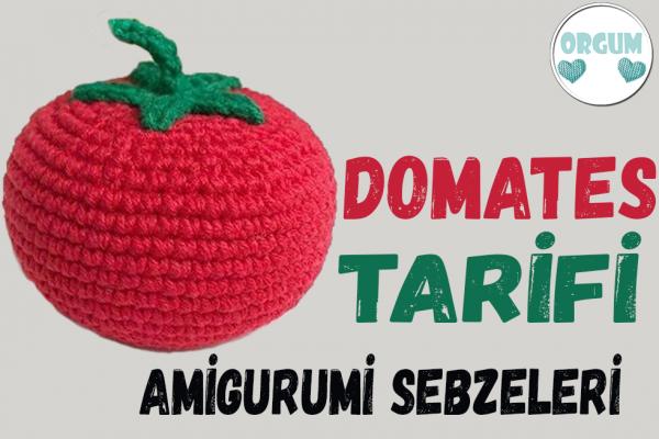 amigurumi domates tarifi