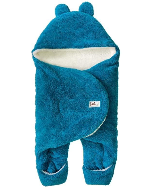 giyilebilir kundak battaniye