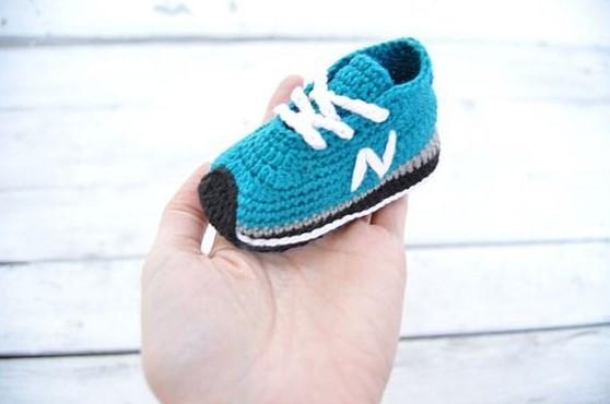 ayakkabı desenli patik