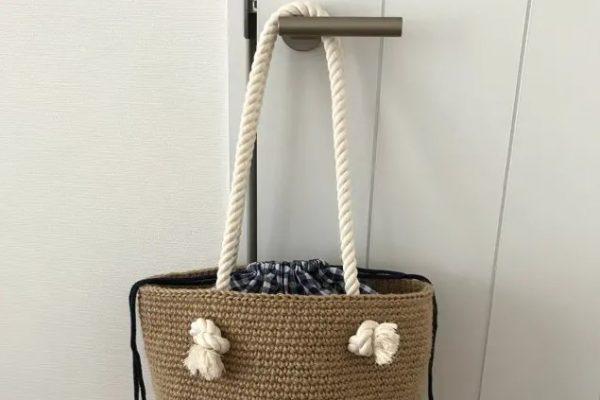 hasır çanta yapımı