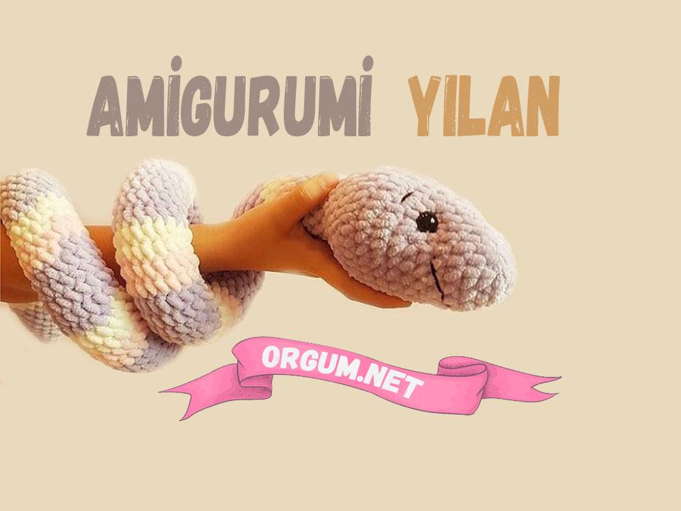 Amigurumi yılan tarifi