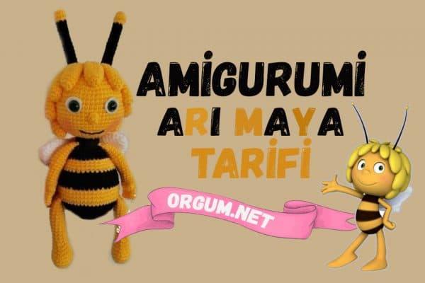 amigurumi arı maya tarifi