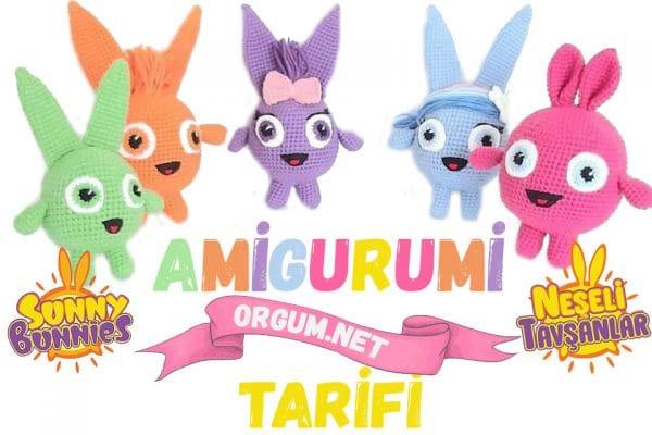 amigurumi sunny bunnies neşeli tavşanlar