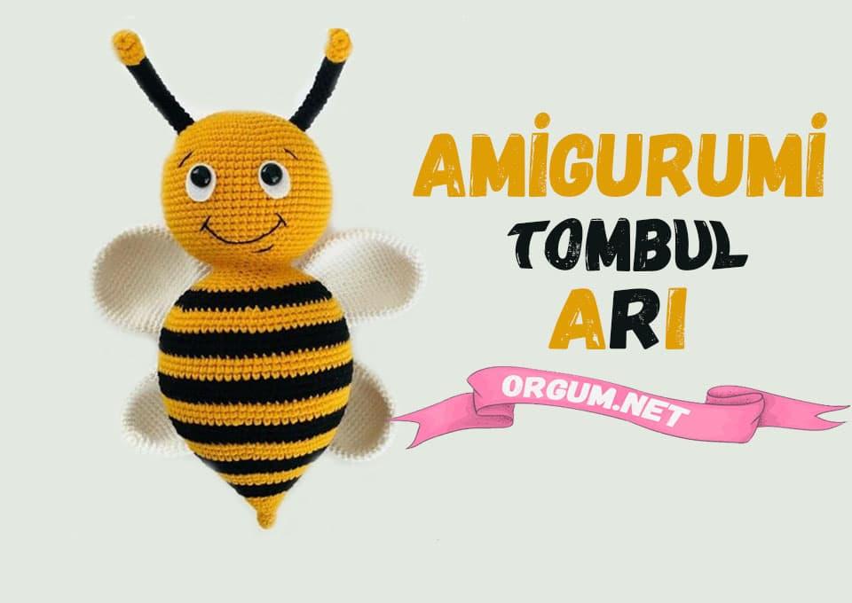 amigurumi tombul arı