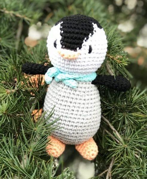 amigurumi penguen