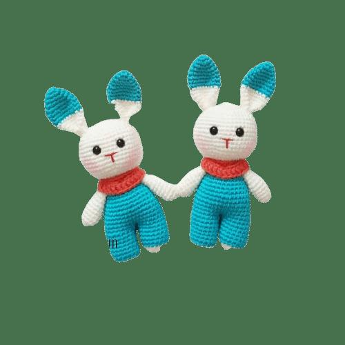 amigurumi lokum tavşan