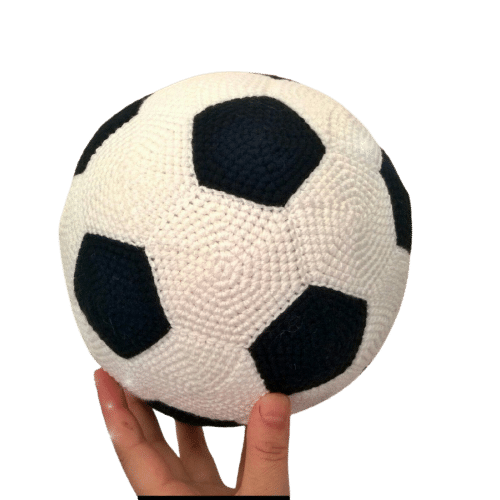 amigurumi futbol topu