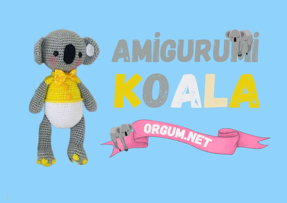 amigurumi koala tarifi