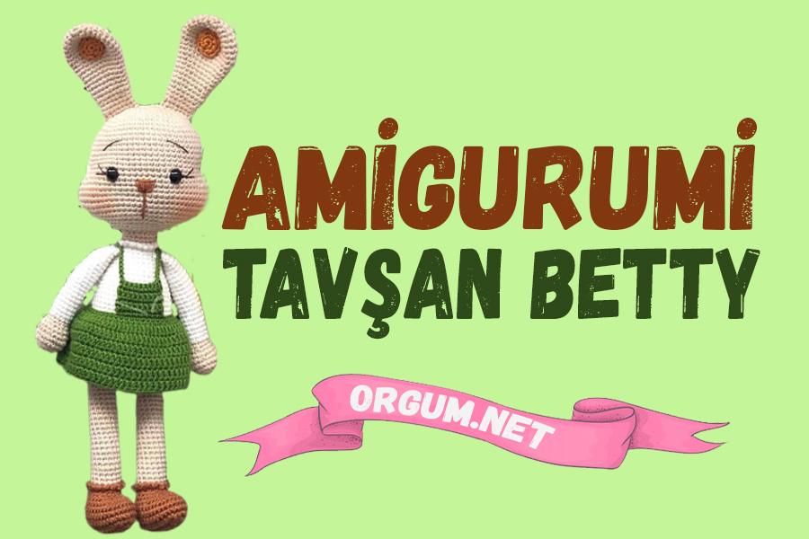 amigurumi tavşan betty