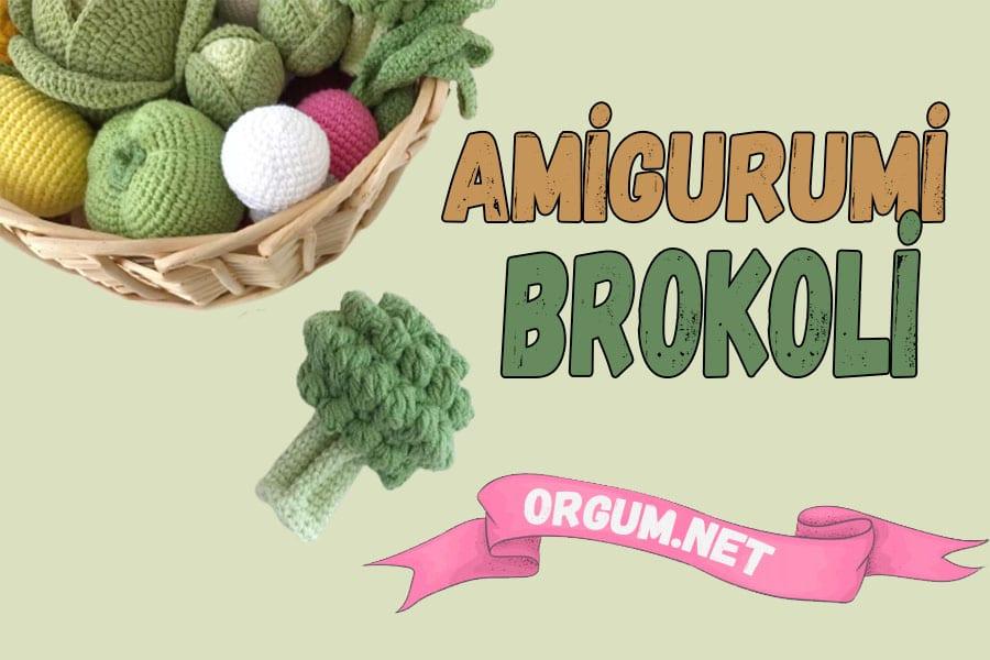 amigurumi brokoli