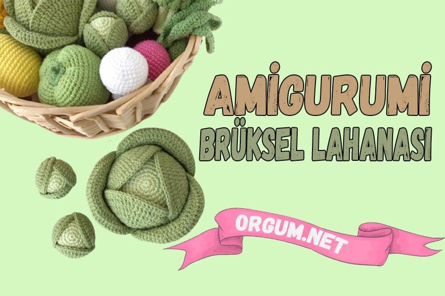 amigurumi brüksel lahanası