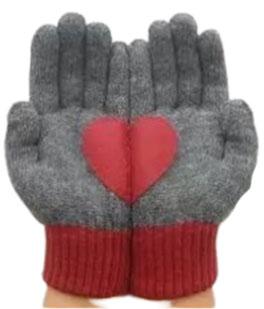 Sevgililer Günü eldiveni