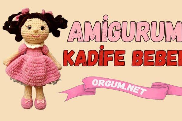 amigurumi kadife bebek