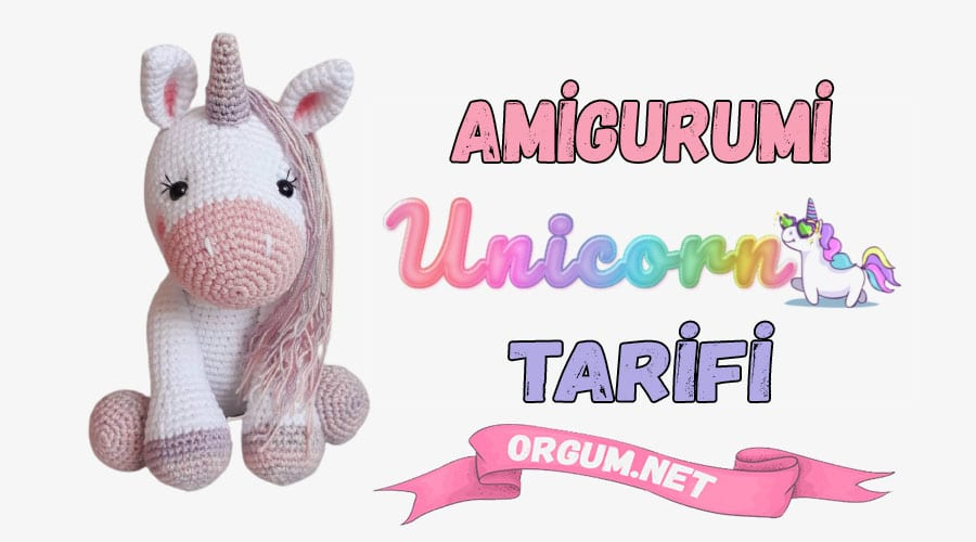 unicorn amigurumi tarifi