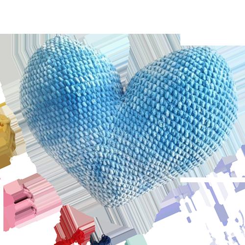 amigurumi kalp tarifi