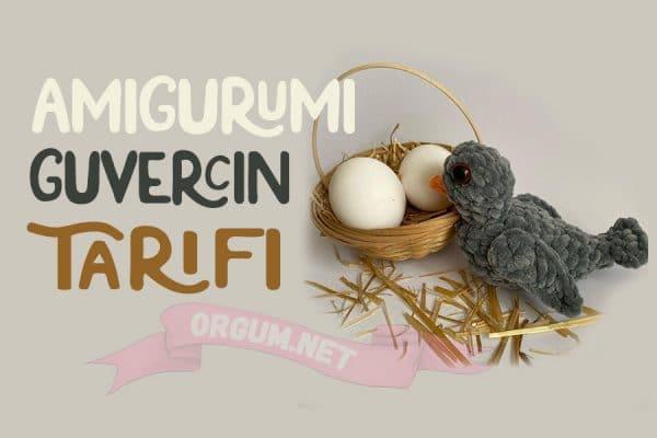 amigurumi kuş tarifi