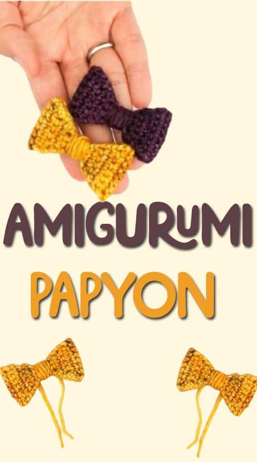 amigurumi papyon tarifi
