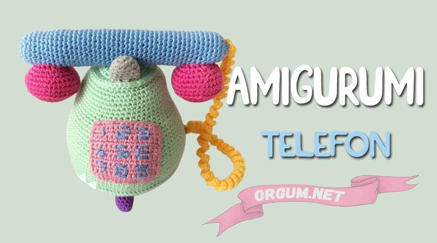 amigurumi telefon modeli